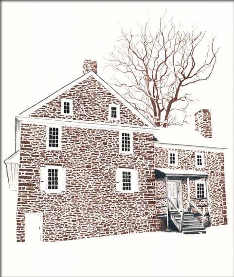 •McConkey's Inn - staging area for Washington's Crossing at Washington's Crossing Park, PA