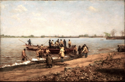 Shad fishing on the Delaware