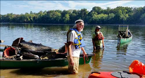Join us for the 2nd annual Clean Communities Delaware River Cleanup!